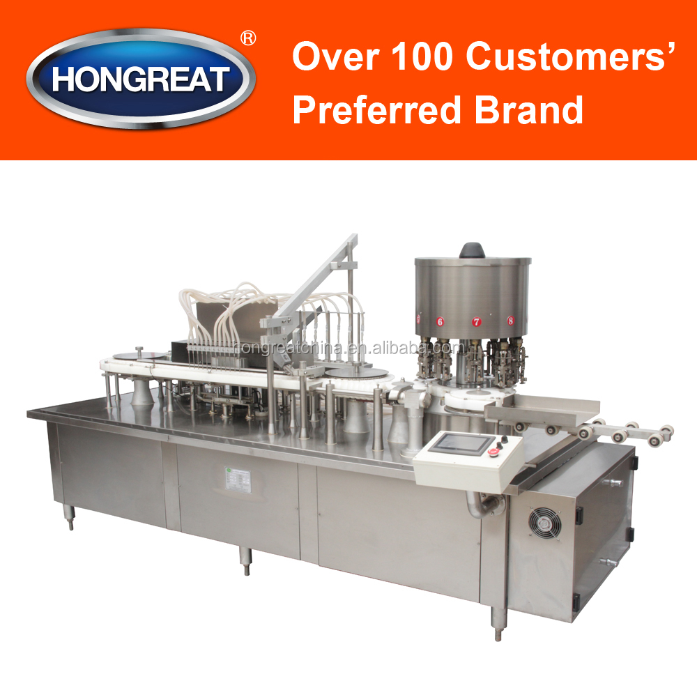 High-speed Filling Machine for Bottles, for Syrup, Beer, Shampoo Bottles