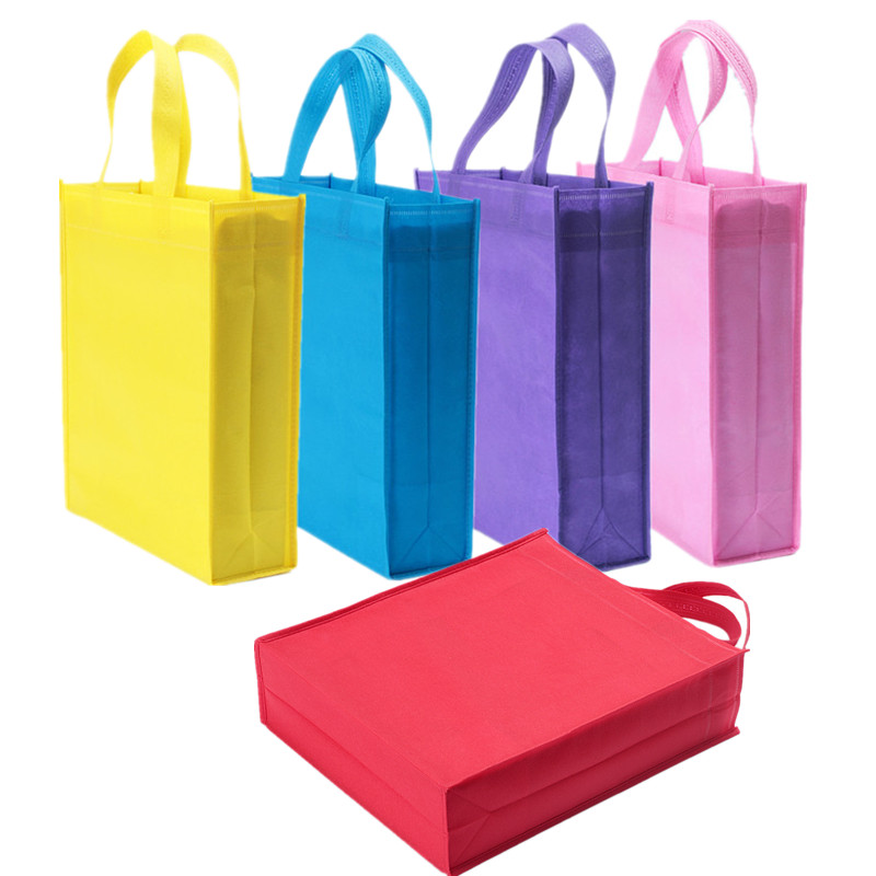 BSCI factory audit colorful promotional shopping non woven bag
