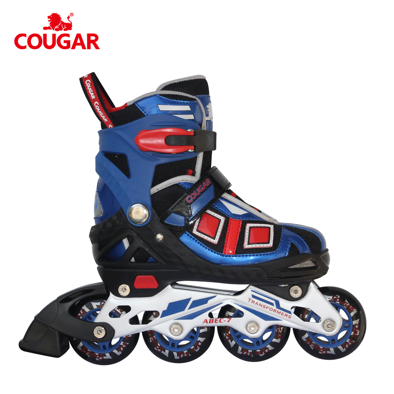 Modieuze fabriek made in china high end kind inline roller 4 wiel skates verstelbare