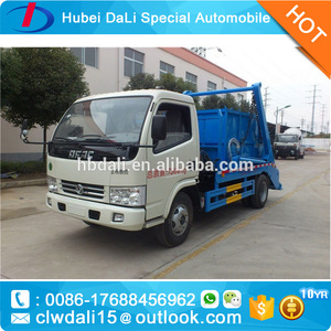 Arm-roll Garbage Truck/Dongfeng Small swept-body refuse collector