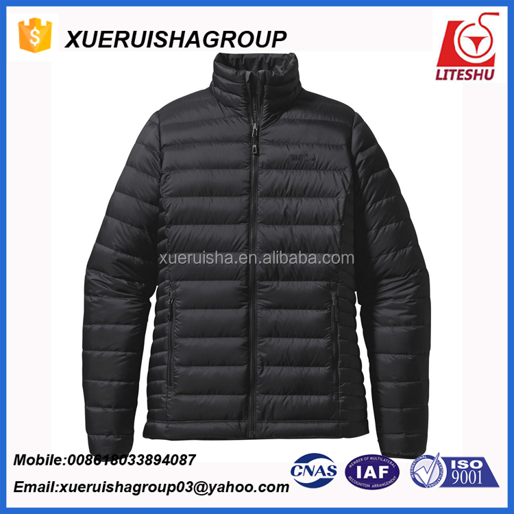 2017 funky style slim light weight windproof indoor office women down jackets