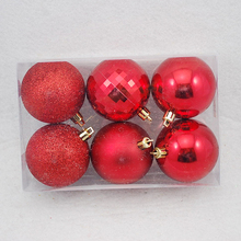 New products wholesale plain color expensive christmas ornaments shatterproof ball ornaments