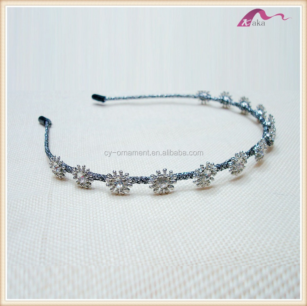 Fancy metal crystal daisy flower crown bridal headband buy metal fancy metal crystal daisy flower crown bridal headband buy metal headbandsbridal headbanddaisy flower crown headband product on alibaba izmirmasajfo