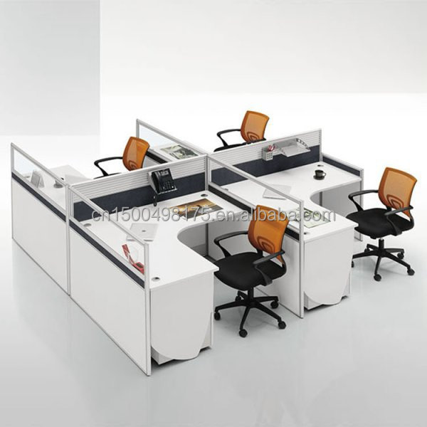 Merveilleux Aluminum Alloy Office Workstation 4 People Office Desk   Buy 4 People Office  Desk,4 People Office Workstation,Dual Office Desk Product On Alibaba.com