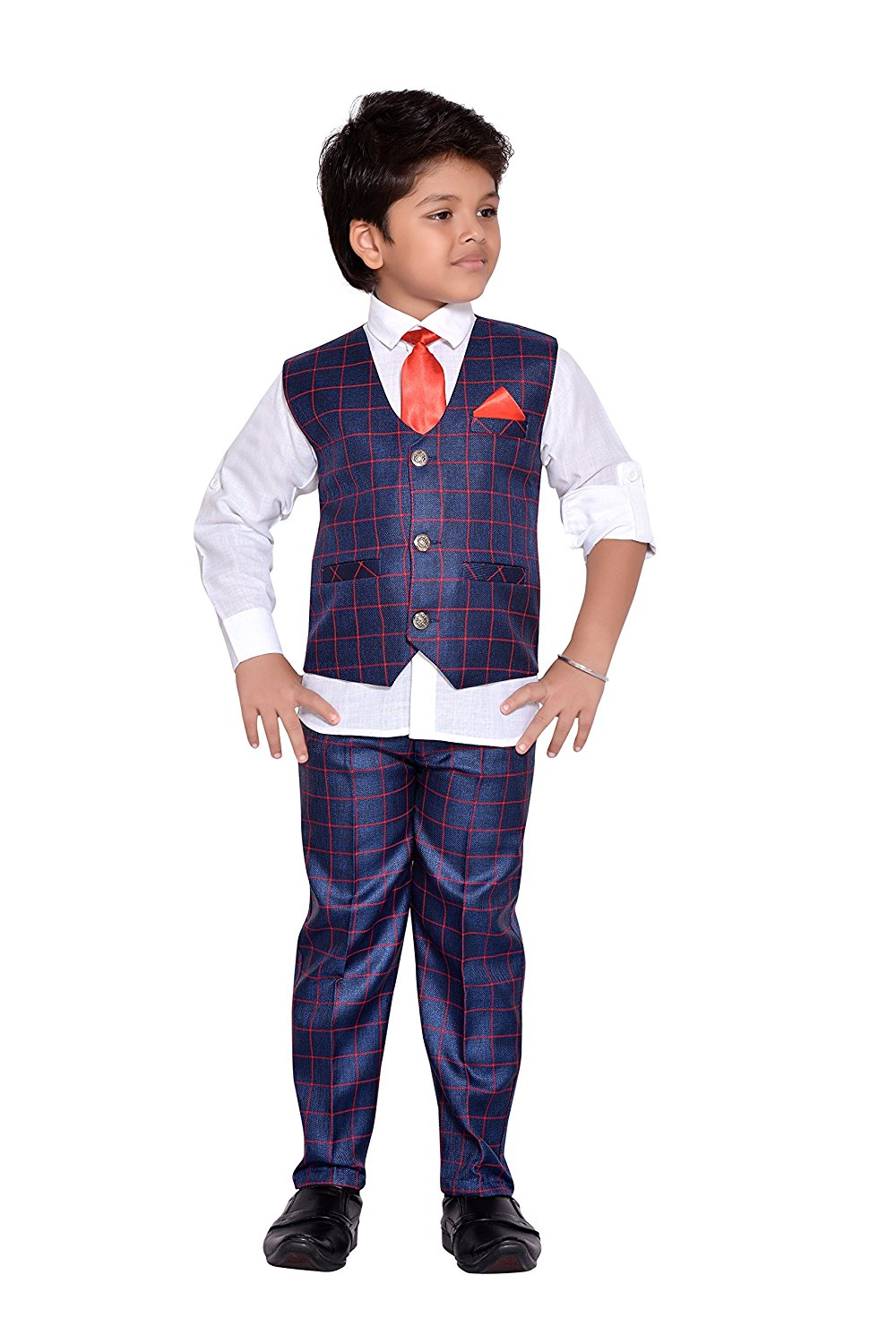 8c7bfee1bb7 Get Quotations · AJ Dezines Kids Indian Party Wear Bollywood Style Clothing  Set for Boys