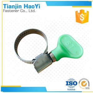 colorful plastic butterfly handle Germany hose clip