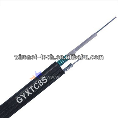 GYXTC8S Underground Opitcal Fiber Cable 12/24/48 Core Cable/Figure 8 self-supporting cable