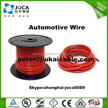 Low Voltage Thin Wall Pvc Insulated Avss 0.5mm2 Automotive Wire ...