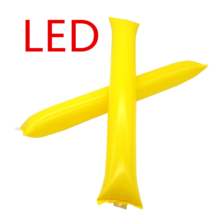 Logo druck Aufblasbare Led Noise Maker Jubeln Sticks