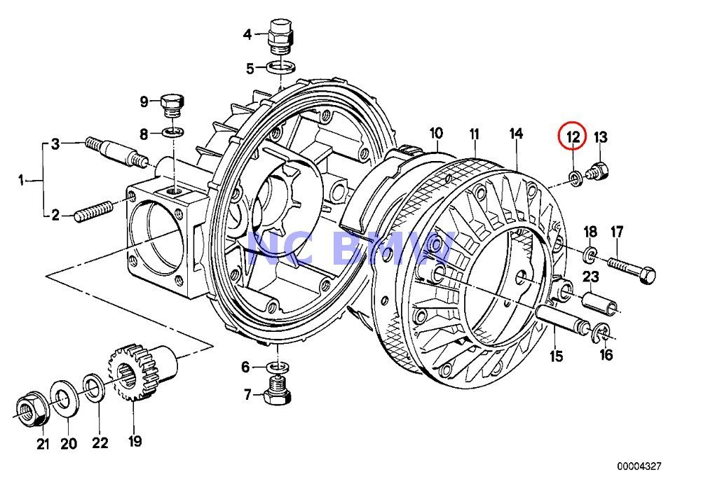 BMW Genuine Motorcycle Gasket Ring A8X11.5-AL R80G/S R80ST R65 R80 R80RT R100/7T R100/T R100CS R100RS R100RT R100S R60/6 R75/6 R90/6 R90S R60/7 R75/7 R80 R80RT R100RS R100RT R65 R65LS G450X K75 K75C K