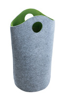 OEM Felt laundry bag ,standable hot sale and eco product