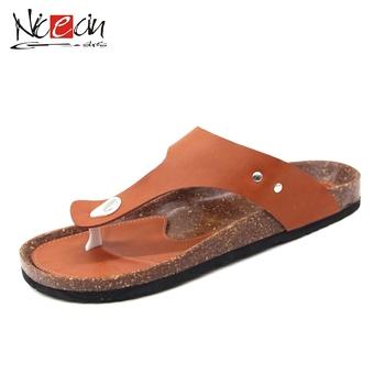 75da76f80 Men s Personalized Pu Leather Sandal Flip-flop Slippers - Buy Pu ...