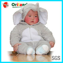 Plush elephant cosplay costume baby