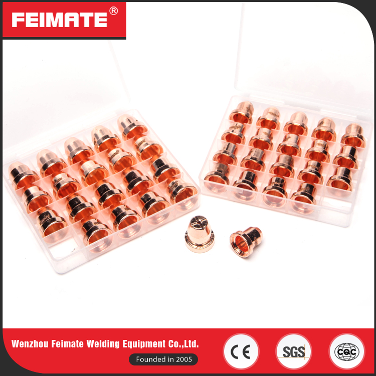 FEIMATE High Quality Durable TC60 80 Plasma Cutting Nozzle Spare Parts