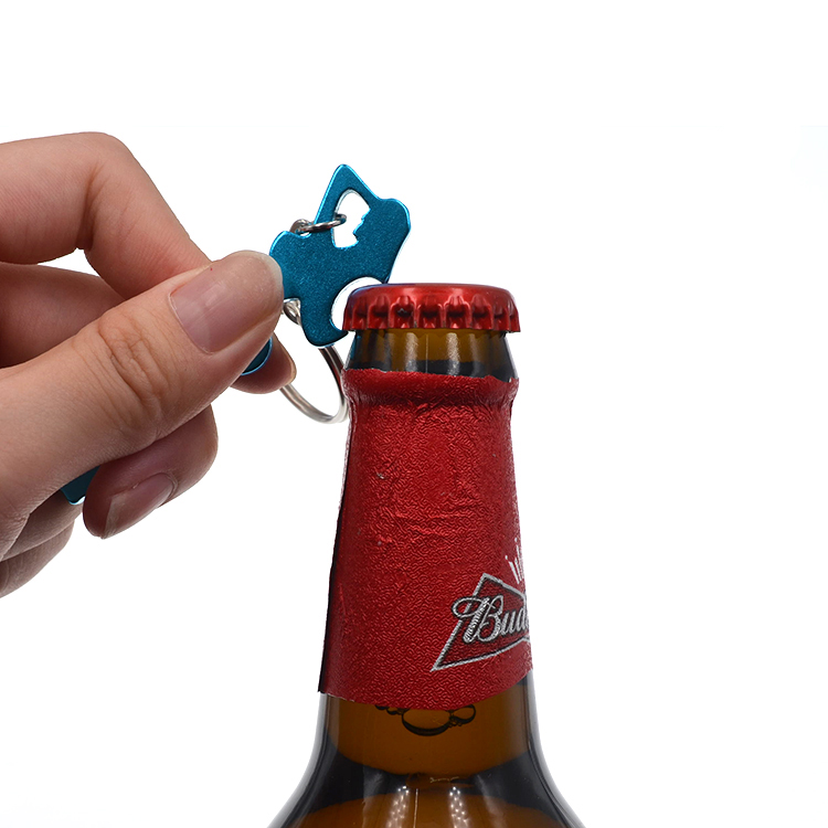 Factory Direct Custom Metal Beer Bottle Opener Colorful Sexy Woman Bottle Opener Keyring