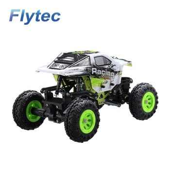Flytec WLtoys 24438 1 / 24 Rock Crawler RC Cars 2.4G 4WD Off - Road Big Foot RC Car Toys RTR RC Racing Mini Electric Car