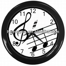 Music Notes Treble Clef Art Wall Clock(HD-8021H)