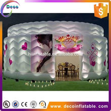 Hot selling Giant clear inflatable dome tent / transparent bubble tent room / inflatable bubble house