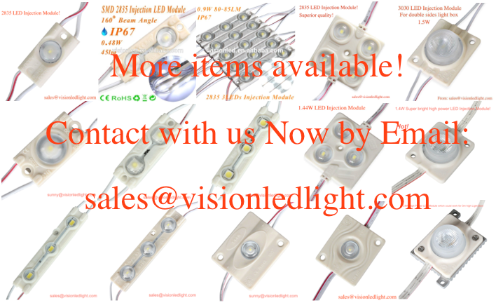 2015 SMD3030 led display injection module for light box