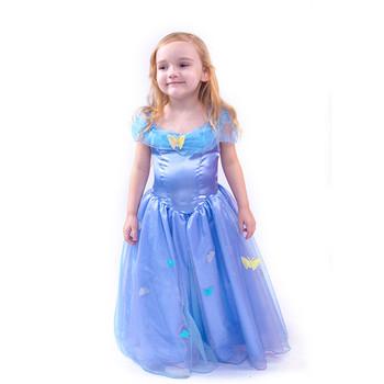 Wholesale Blue Halloween Costume Kids Princess Costumes Girls Anna Buy Costumes Girls Anna Blue Halloween Costume Halloween Dress Product On Alibaba Com