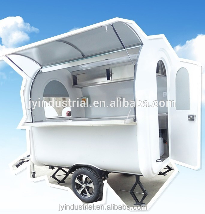 Good price fast food catering mobile kitchen trailer