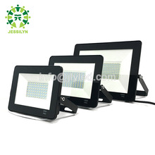 Wholesale Outdoor Ultra Thin Led Flood Light Slim LED Floodlight Black Color 10w 20w 30w 50w 100w 110v 220v 165-265v 85-265v