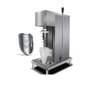 Healthy Snacks Machine Yogurt Ice Cream Blender / Real Fruit Ice Cream Mixer / Fruit Ice Cream Mixing Machine