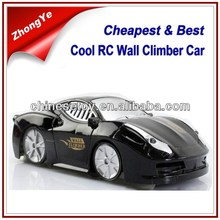 Crazy Price! Chenghai Toys Cool Infrared Remote Control Wall Climbing Car RC Climbing Wall Car Toy