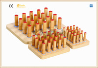 Cylinder Graded Peg Board Rehabilitation Therapy Supplies
