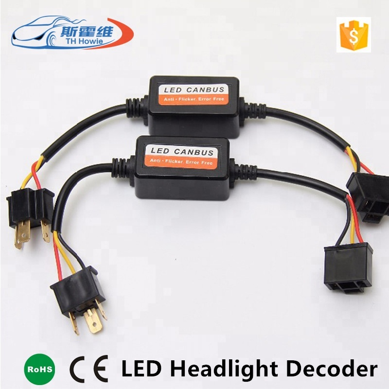 2pcs H7 H1 H4 Hb3 Hb4 H11 Car Led Headlight Fog Lamps Error Free Warning Canceller Capacitor Load Resistor Canbus Decoders Various Styles Car Lights