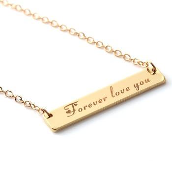 Funny Personalized Custom Engraved Name High Quality Words Symbols Custom Necklace Engagement Gifts - Buy Custom Necklace,Funny Personalized Gifts, Custom ...