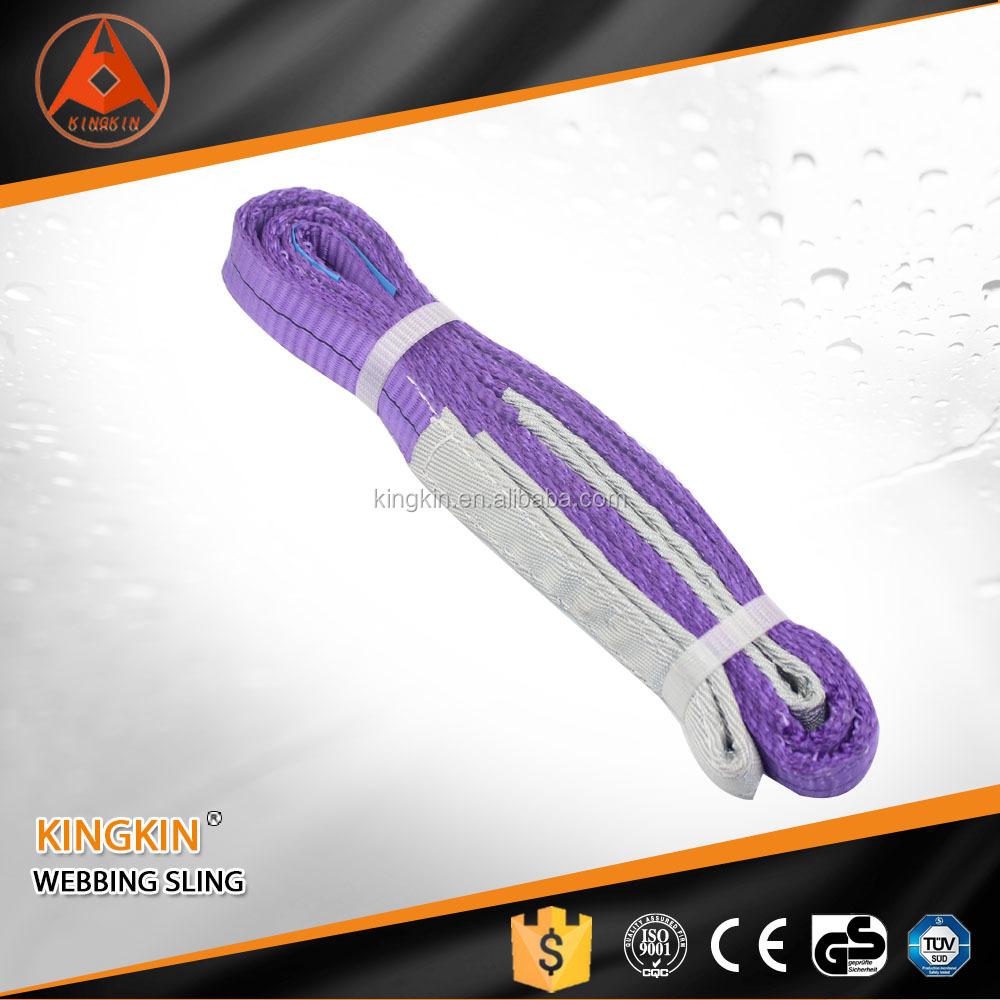 High Quality Purple Color Code Lifting Sling Polyester Webbing Sling Belt  Web Sling For Lifting - Buy Web Sling,Webbing Sling Belt,Color Code Lifting