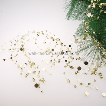 Wedding Decoration Christmas Decoration beaded wire garland
