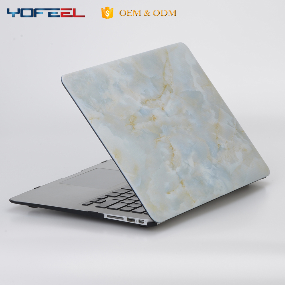 Unique marble laptop cover case , new laptop hard case cover custom
