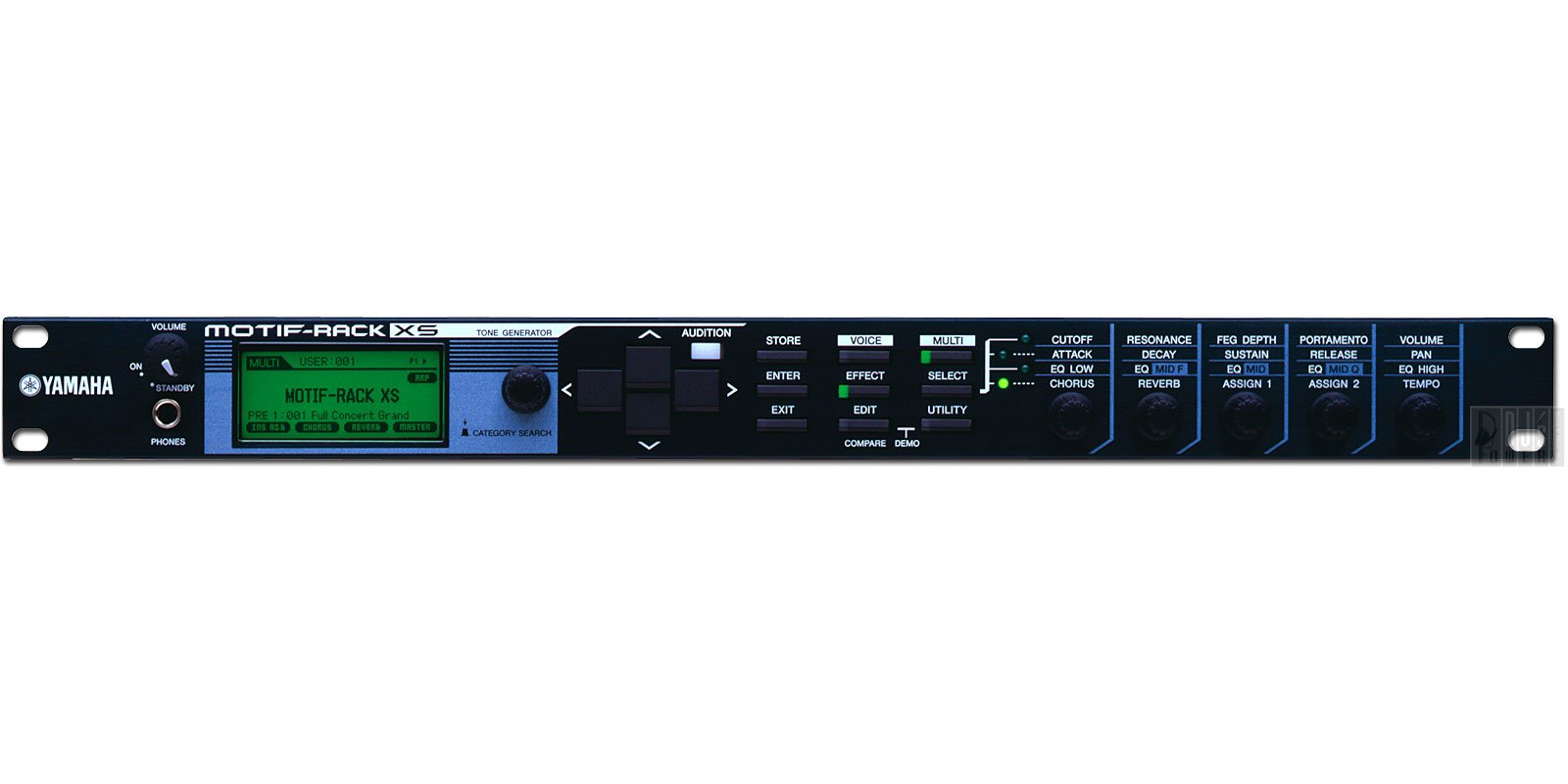 Yamaha Motif XS Rack Mount Sound Module