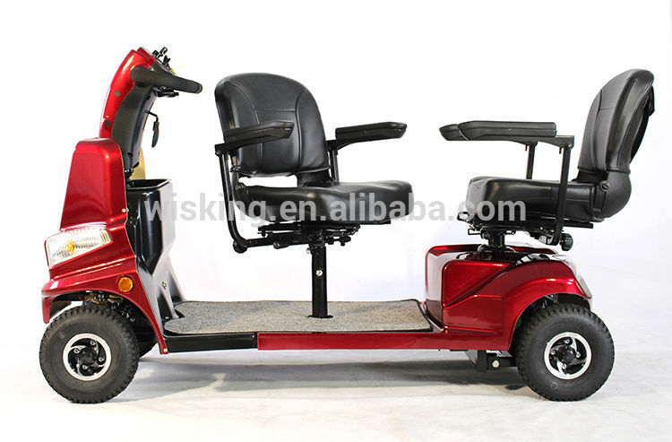 2 Seat Electric Mobility Scooter With Roof Buy 2 Seat