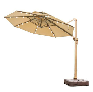 hotel sunshade solar umbrella beach parasol