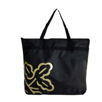 High quality 600d blank polyester canvas tote bag