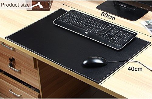 2018 vendita calda del cuoio scrivania pad per computer mouse o laptop elegante tappetino. Black Bedroom Furniture Sets. Home Design Ideas