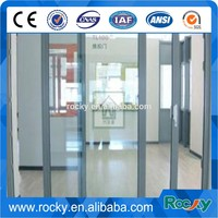 Qingdao Rocky high quality 4mm-12mm glass sliding door