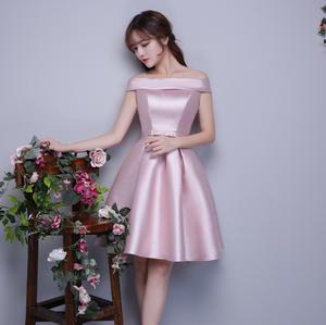 f5c6380f902 c10201a 2018 fashion satin evening prom dress bridesmaid dresses