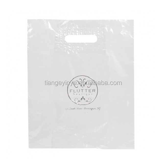 Die Cut Plastic Bag Shopping Plastic Bag Printing