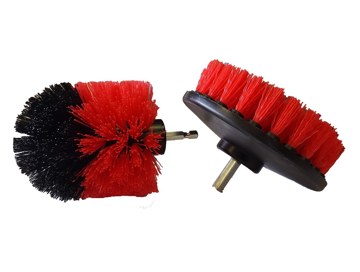 Bring It On Cleaner Drill Brush Set, Tile and Grout Cleaner Scrubber, Nylon Brush Drill Attachment, Tub and Shower Cleaning Brush
