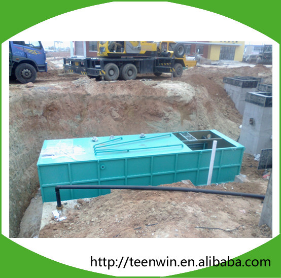 MBR Sewage Treatment Plant Wastewater Treatment Machine Integrated Membrane Bioreactor Equipment