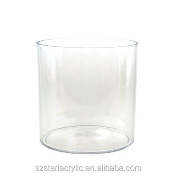 Clear Acrylic Cylinder Vase 6 Inch Buy Acrylic Flower Vaseclear