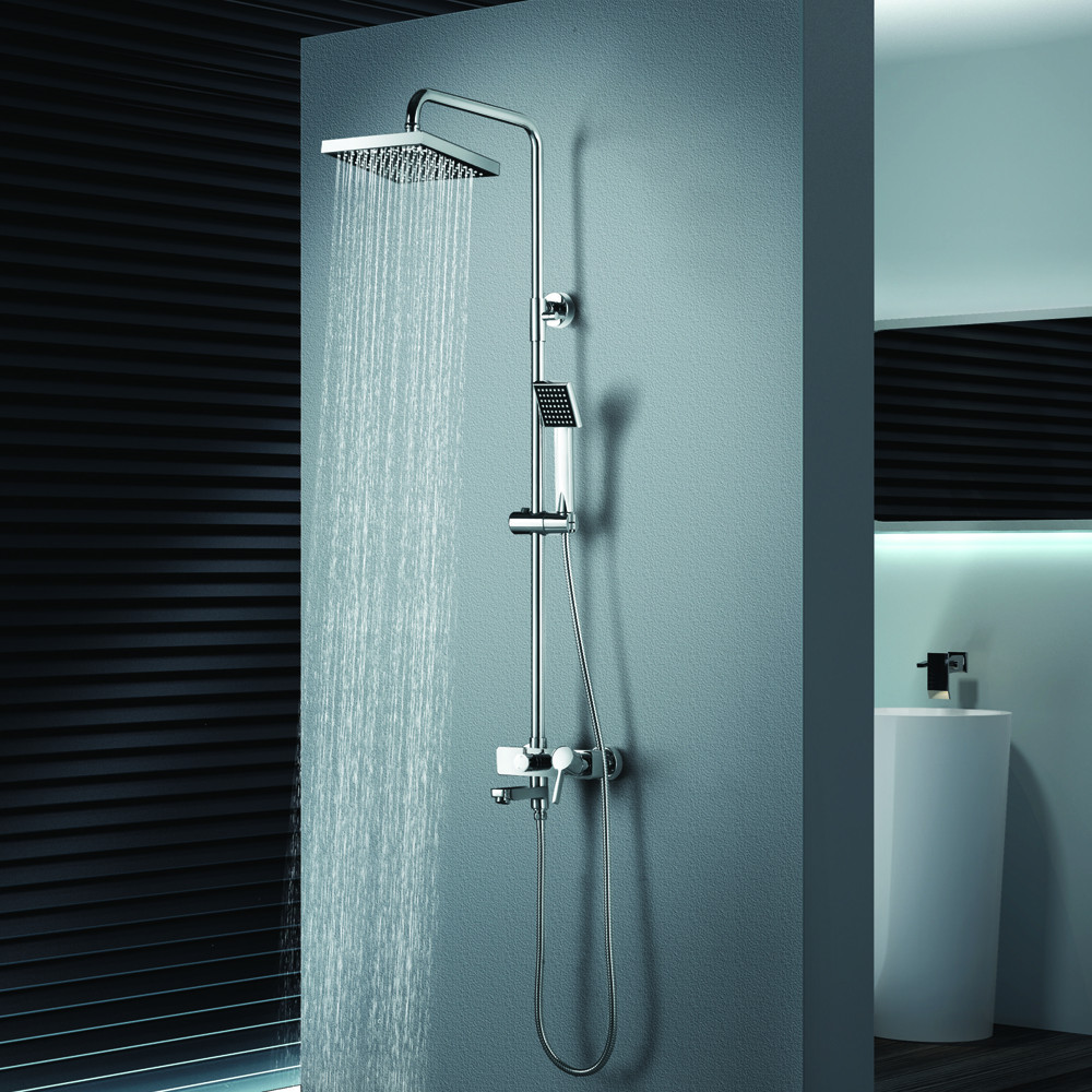 CS-04 Single Level wall mounted shower mixer