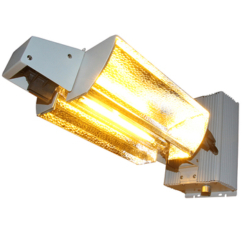VEGA Aluminum Wide Type Integrated 1000 watt DE Double Ended HPS / MH Grow  Light Fixture Reflector, View 1000 watt DE Fixture, OEM Product Details