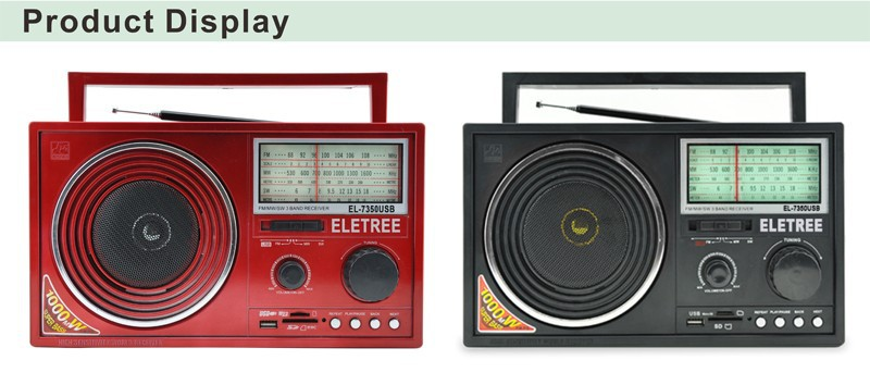 China Hot Sale Portable Am/fm Radio With Usb/sd Card Mp3 Player ...
