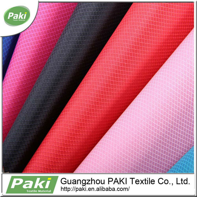 420d jacquard oxford fabrics PVC foamed coated