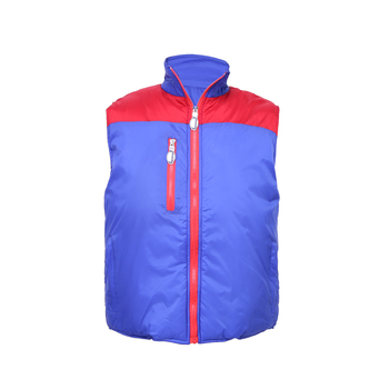 Best selling colorful safety vest padding fleece vest safety vest for women